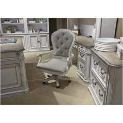 Desk Chair Home Office Small Pub Table And 2 Chairs 244 Ho197 Liberty Furniture Jr Executive Magnolia Manor