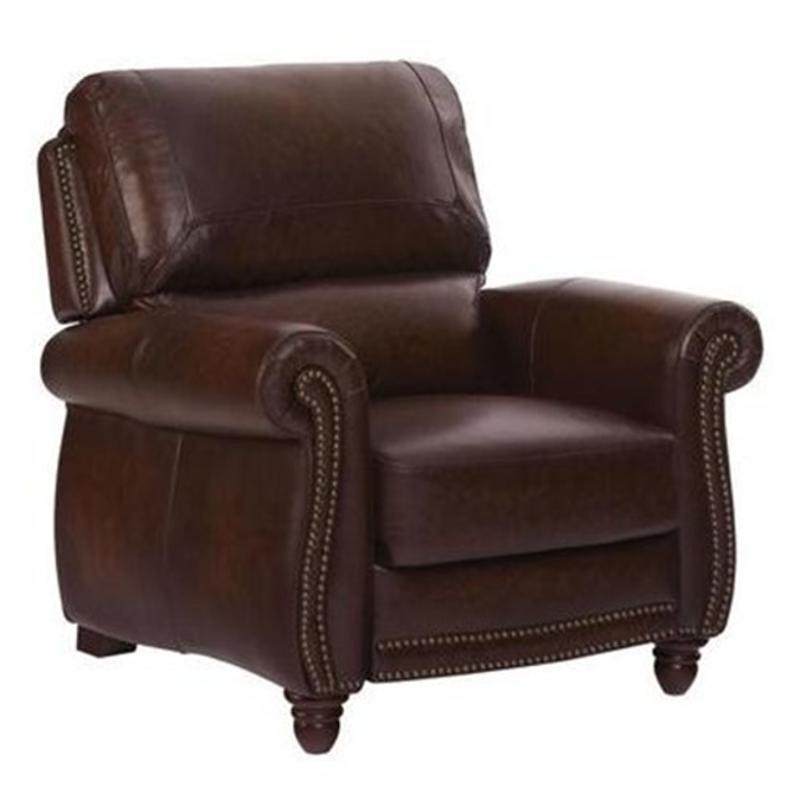 P9922012952 Leather Italia Push Back Chair Tobacco