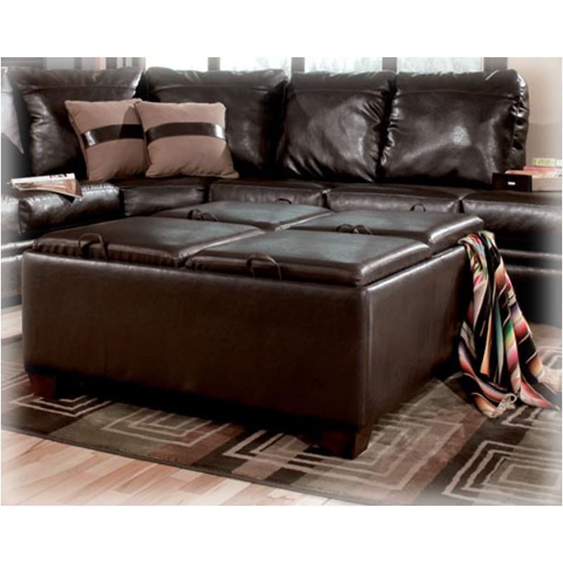 chairs with storage ottoman margaritaville for sale 7190311 ashley furniture durahide bicast brown living room