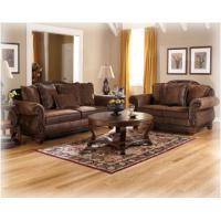1540035 Ashley Furniture Bradington - Truffle Loveseat