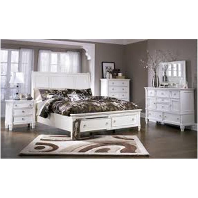 B67236 Ashley Furniture Prentice  White Bedroom Bedroom Mirror