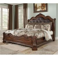 B705-58 Ashley Furniture Ledelle - Brown Bedroom King ...