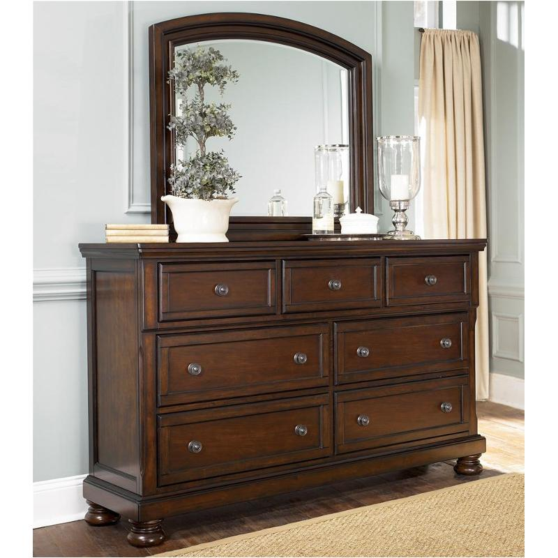 B69731 Ashley Furniture Porter  Rustic Brown Bedroom Dresser