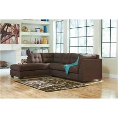 Walnut Furniture Living Room Led Light Fixtures 4520116 Ashley Maier Laf Chaise Sectional