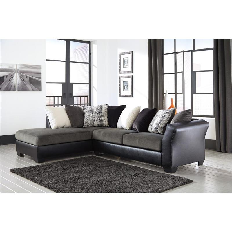 2020067 Ashley Furniture Armant  Ebony Living Room Raf Sofa