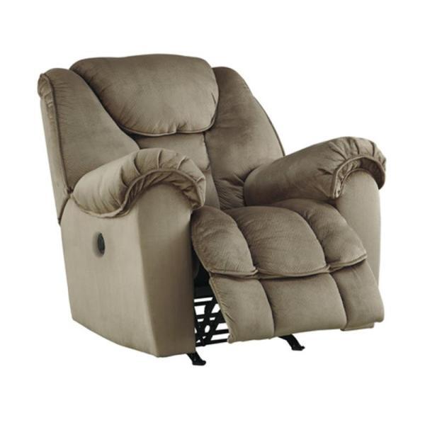 3660198 Ashley Furniture Jodoca - Driftwood Power Rocker