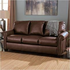 Ashley Furniture Durablend Sleeper Sofa Shayla Chaise Canada 3800036 Full Lottie Chocolate Living Room