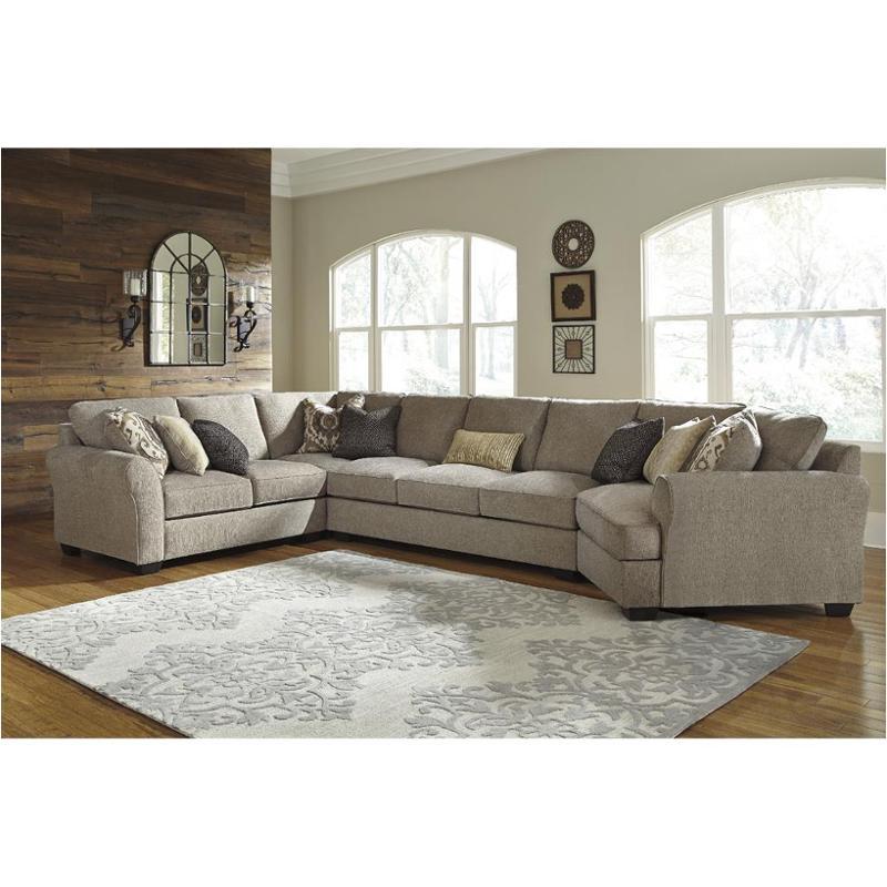 armless sofas star sofaworks 3910299 ashley furniture pantomine driftwood sofa