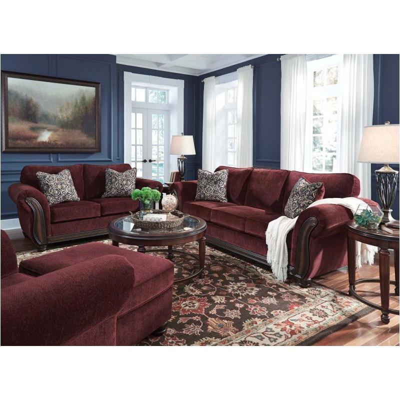8810238 Ashley Furniture Chesterbrook  Burgundy Living