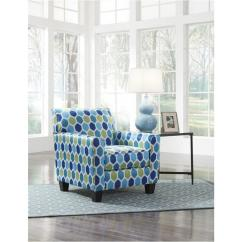 Turquoise Accent Chairs Chicco Folding High Chair 9470421 Ashley Furniture Ayanna Nuvella Living Room