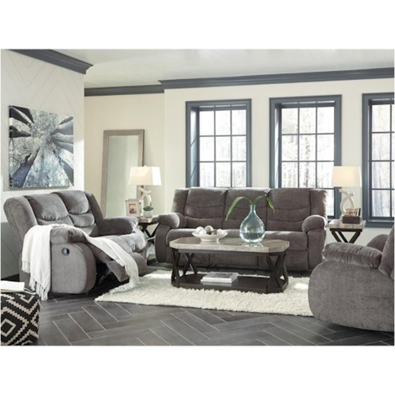 living room reclining sofas design solutions long narrow 9860688 ashley furniture tulen gray sofa recliner
