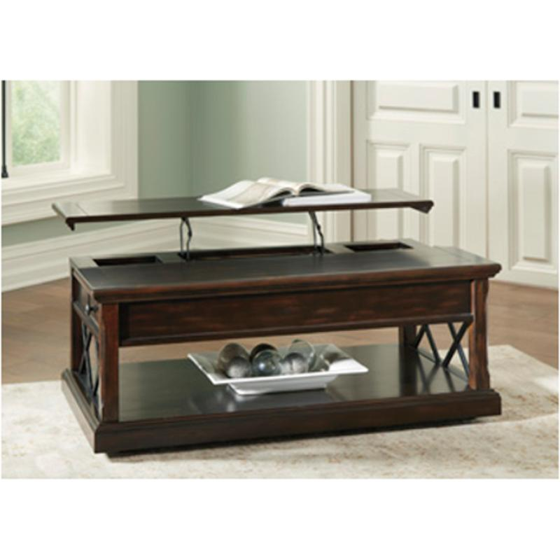 T7019 Ashley Furniture Lift Top Cocktail Table