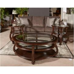 Living Room End Tables Colours To Match Grey Sofa T819 6 Ashley Furniture Yexenburg Round Table