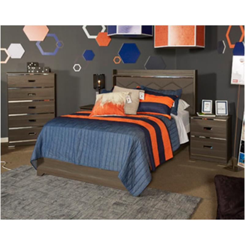 B132 87 Ashley Furniture Annikus Full Upholstered Panel Bed