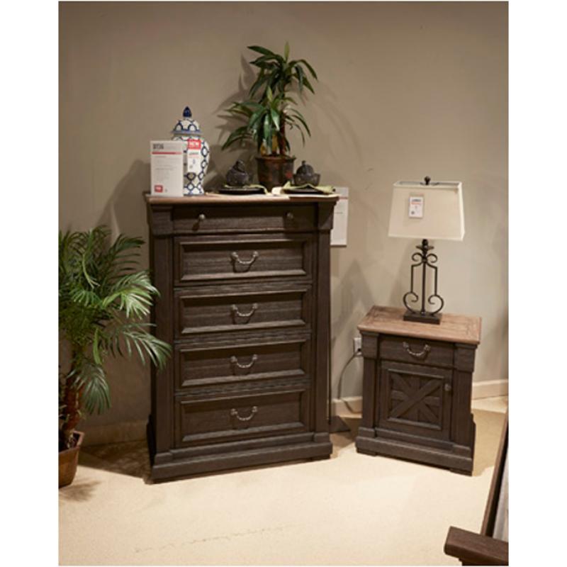 B736 46 Ashley Furniture Tyler Creek Bedroom Five Drawer Chest