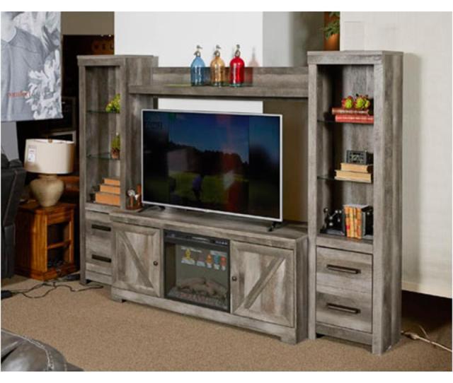 W440 68 Ashley Furniture Wynnlow Home Entertainment Entertainment Center