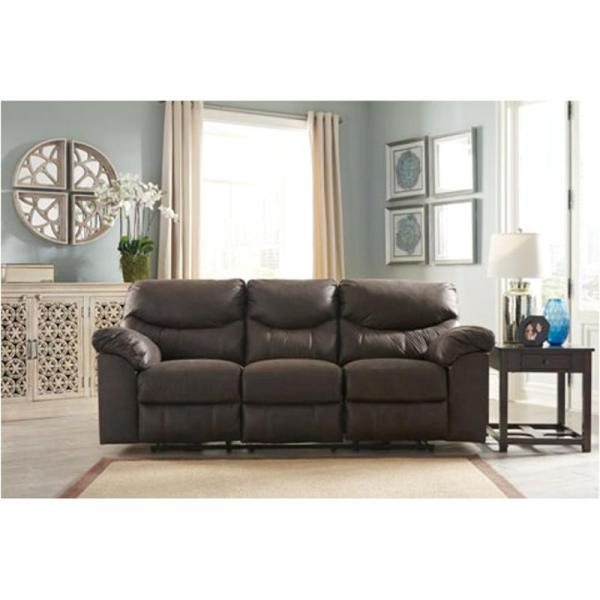 3380388 Ashley Furniture Boxberg - Teak Reclining Sofa