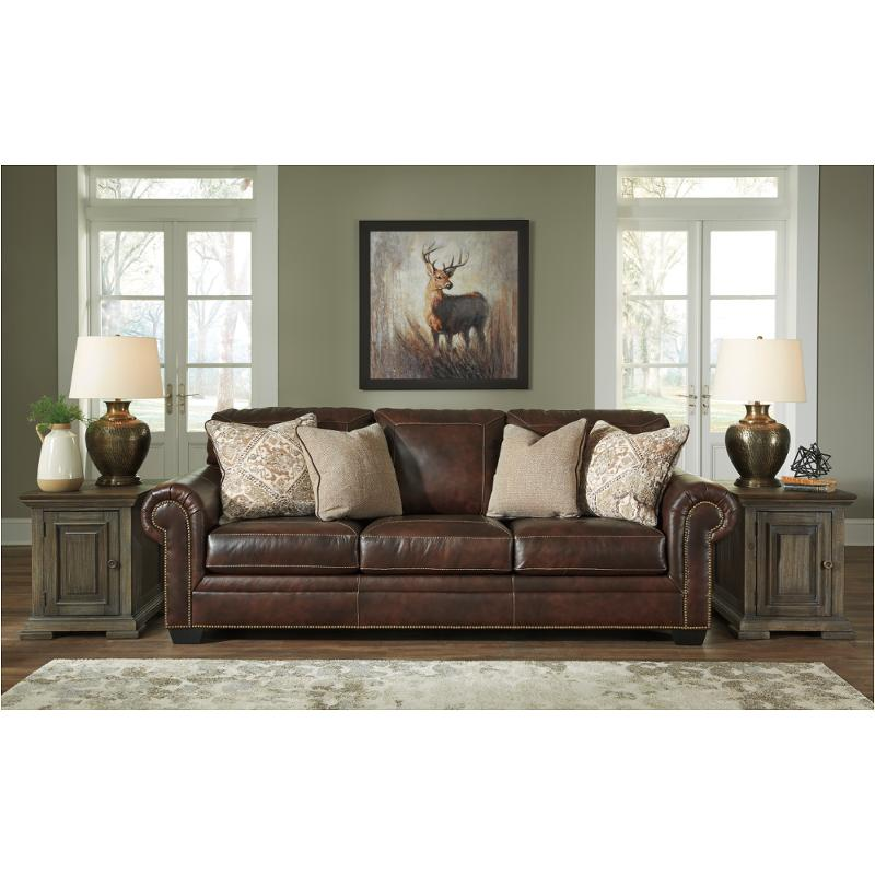 walnut furniture living room lighting for with cathedral ceiling 5870238 ashley roleson sofa