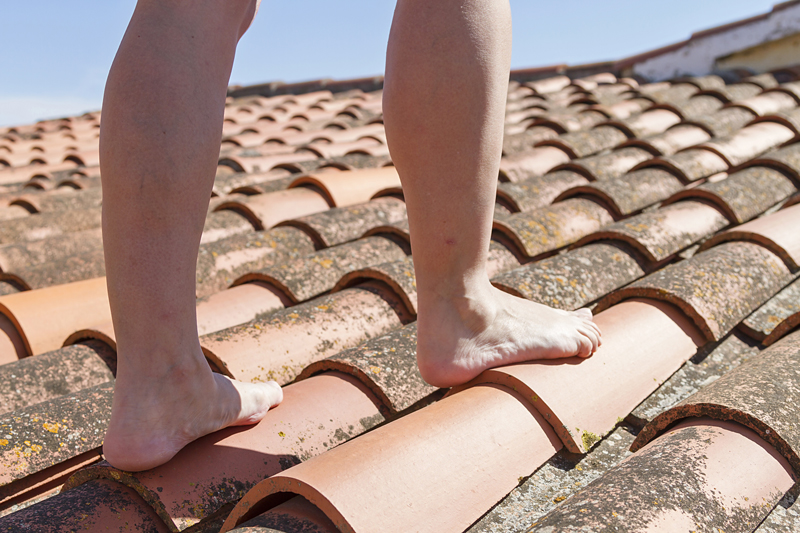 solved can you walk on a tiled roof home logic uk