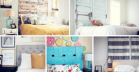 17 Cool DIY Headboard Ideas to Upgrade Your Bedroom - Homelovr