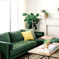 Small Living Room Ideas Green Best Ergonomic Chairs 30 Make The Most Of Your Space Homelovr Couch