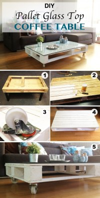15 Creative DIY Coffee Table Ideas You Can Build Yourself ...