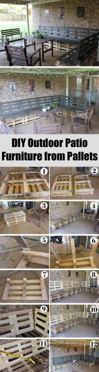 15 Best DIY Outdoor Pallet Furniture Ideas - Homelovr