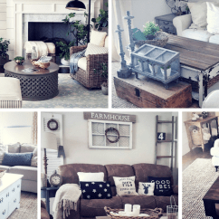 Rustic Modern Living Room Decor Ideas Small Decorating Houzz 27 Farmhouse For Your Home Homelovr
