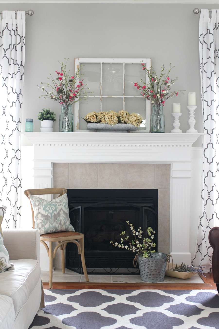 rustic decorating ideas for living room yellow and gray rooms 27 farmhouse decor your home homelovr mantel