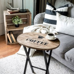 Rustic Decorating Ideas For Living Room House Plans With Large Kitchen And 27 Farmhouse Decor Your Home Homelovr Wooden Coffee Table