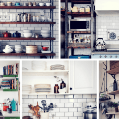 Kitchen Open Shelves Metal Cart 19 Gorgeous Shelving That Will Inspire You Homelovr