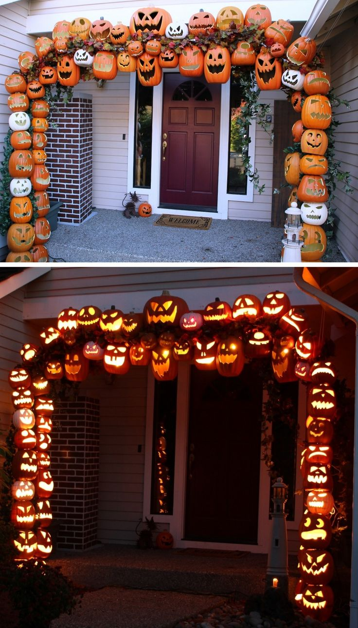 Halloween Pumpkin Arch