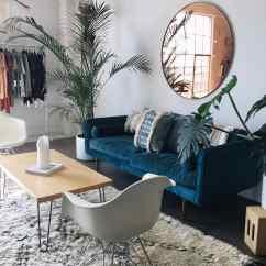 Blue Velvet Sofa Living Room Ideas Florence Knoll Nz Gorgeous For Your