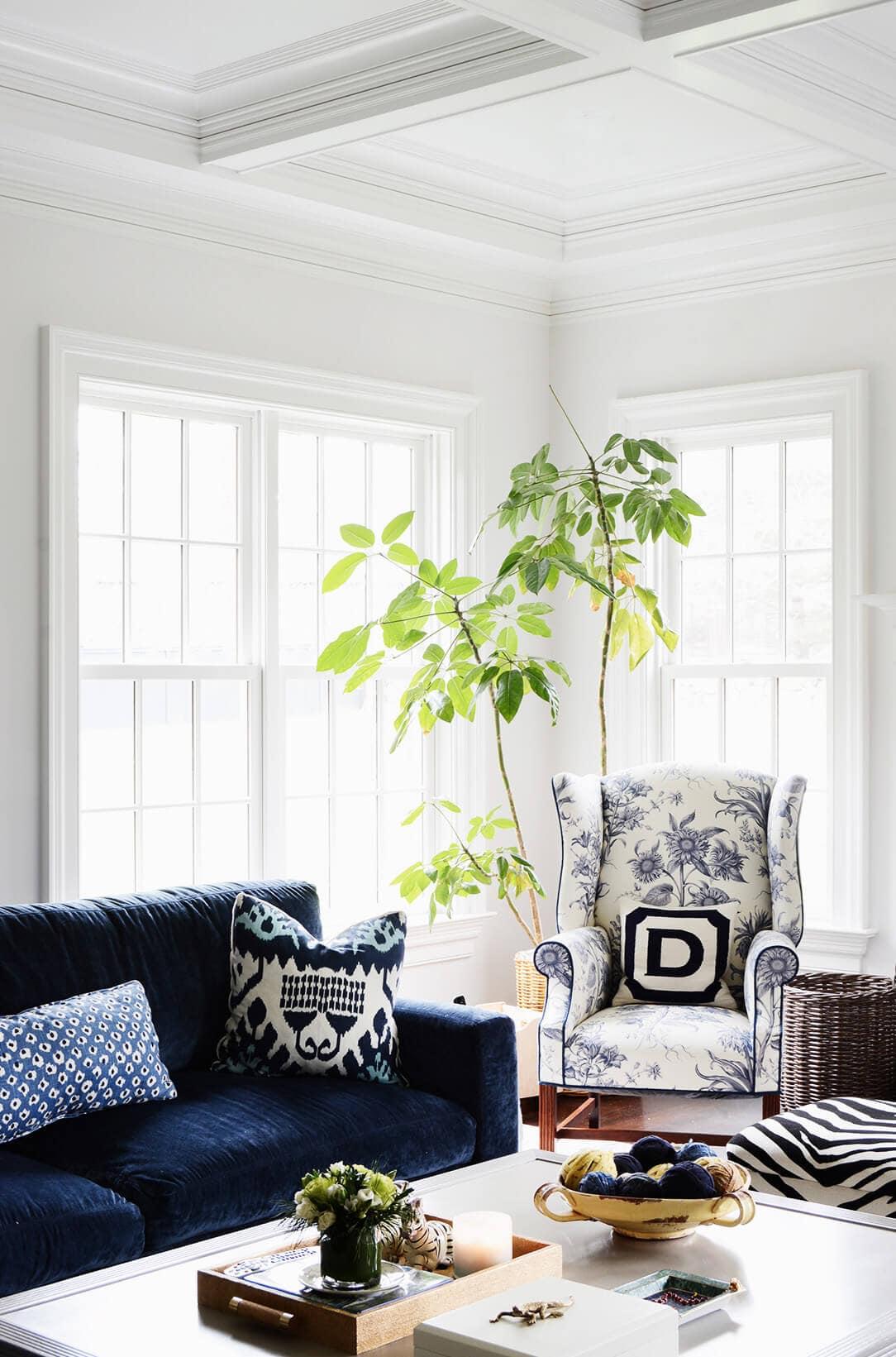 blue velvet sofa living room ideas lane sleeper reviews gorgeous for your