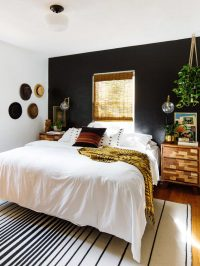 Black Accent Wall Ideas To Make A Bold Statement in Any ...