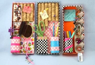 HomelySmart | 10 Cute and Fun DIY Locker Decorations For
