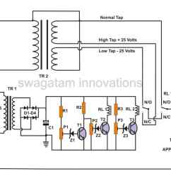 Wiring Circuits Diagrams E38 Seat Diagram How To Build A 2 Stage Mains Power Stabilizer Circuit