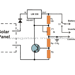 Solar Panel Array Wiring Diagram Nissan X Trail T30 Towbar Build A Voltage Regulator Charger Circuit