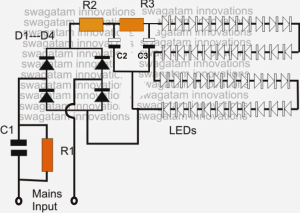 Simple LED Bulb Circuit