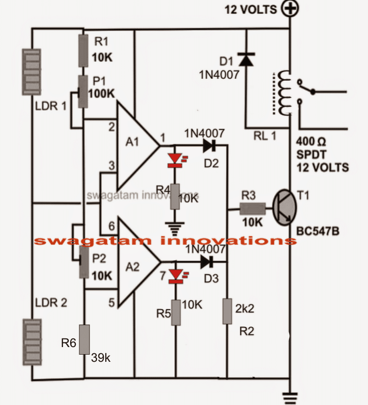 simple motion detector circuit