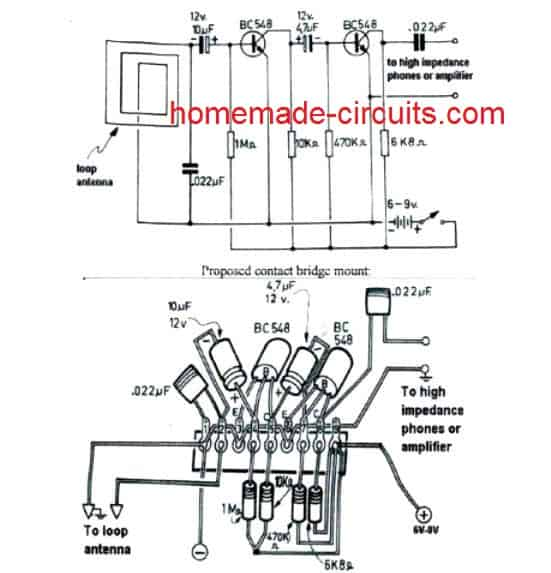 Very Low Frequency (VLF) Detector Circuit