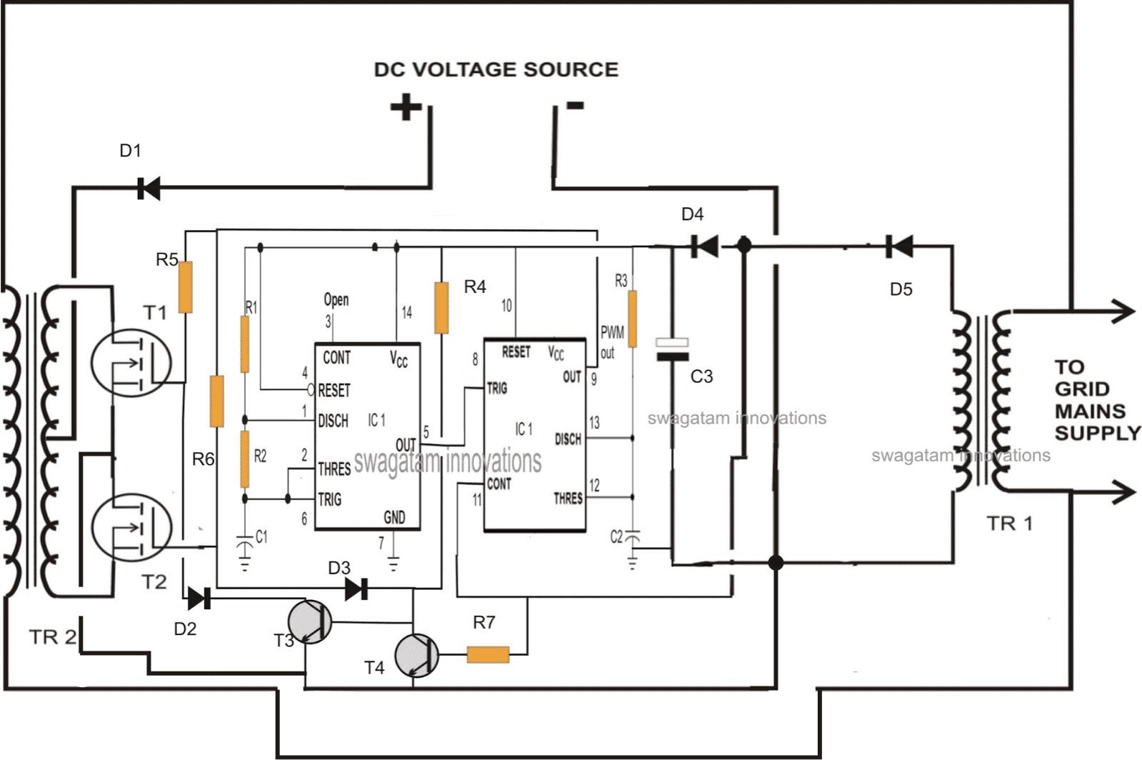 Grid Tie Power Inverter Wiring Diagram : 38 Wiring Diagram