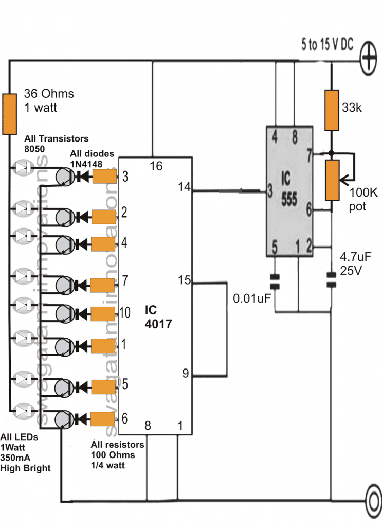 3 Interesting DRL (Day Time Running Light) Circuits for