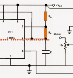 class d amplifier circuit using ic 555 homemade circuit projects circuit using ne555 audio amplifier schematic circuits picture [ 1400 x 609 Pixel ]