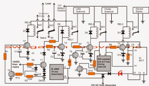 Automatic Transfer Switch (ATS) Circuit