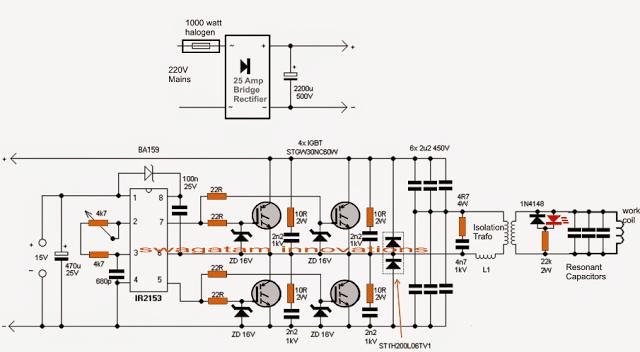 induction furnace circuit induction heating iii with igbt