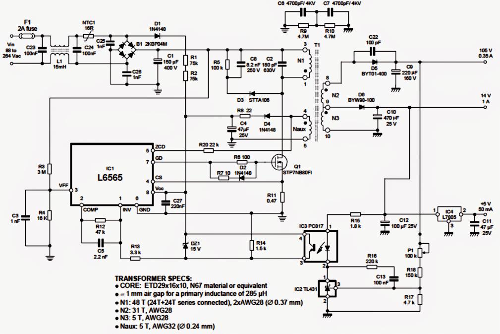 SMPS 50 watt LED Street Light Driver