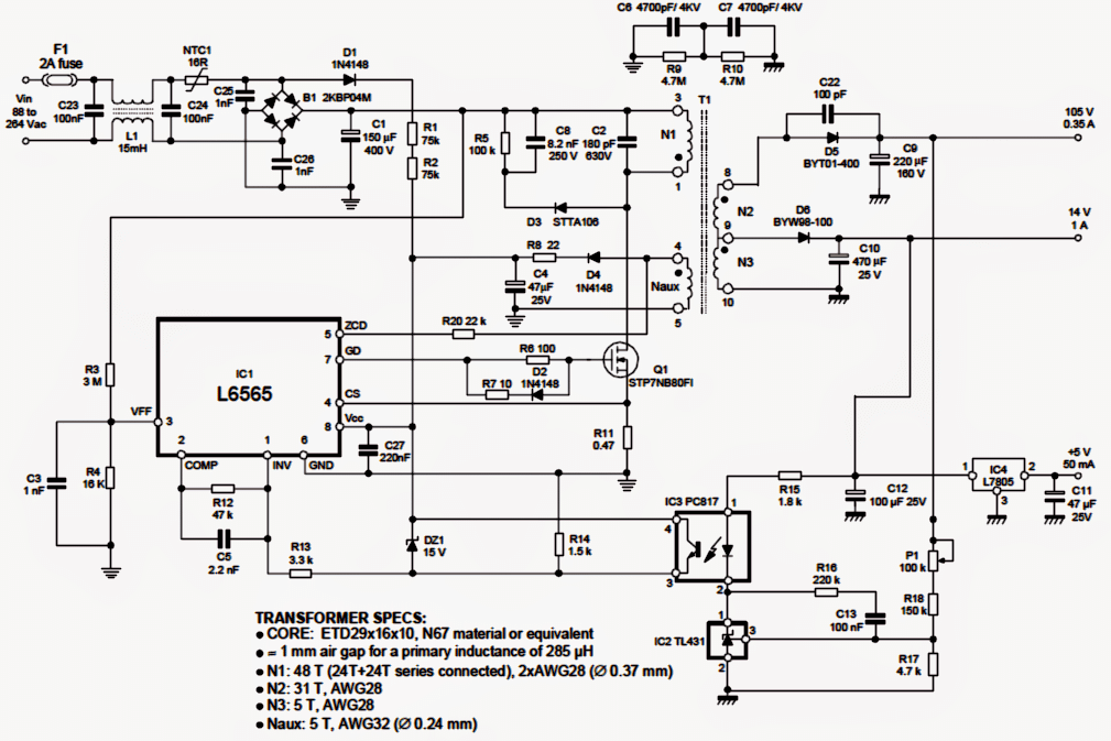 led controller schematic