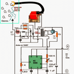 Wiring Diagram For Inverter Muscular System No Labels Ozone Water/air Sterilizer Circuit
