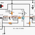 Fish Aquarium Oxygen Generator Circuit